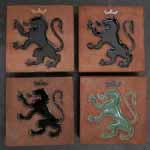Larger Heraldic Tiles