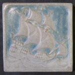 Marblehead Galleon Tile