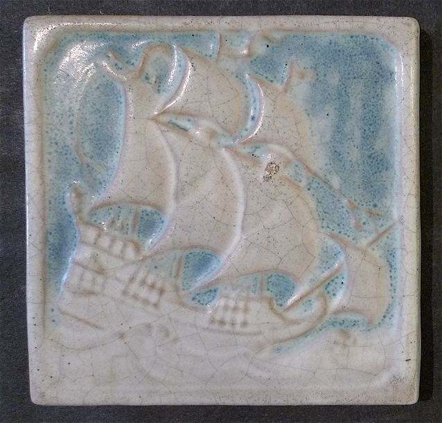 Marblehead Galleon Tile