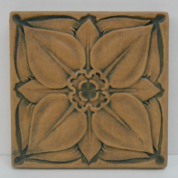 Cal Art Flower Tile