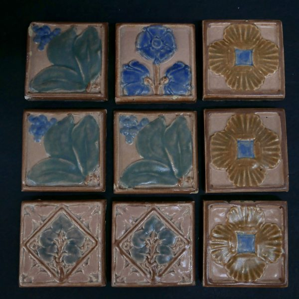 Cal Art Polychrome Tiles