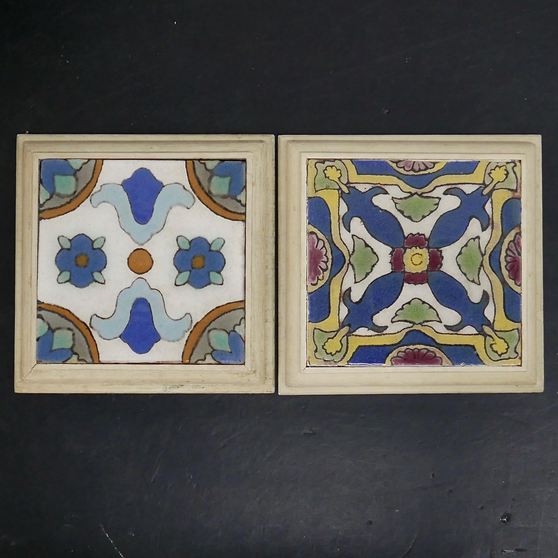 Framed Malibu Tiles