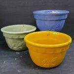 Garden City Embossed Pots