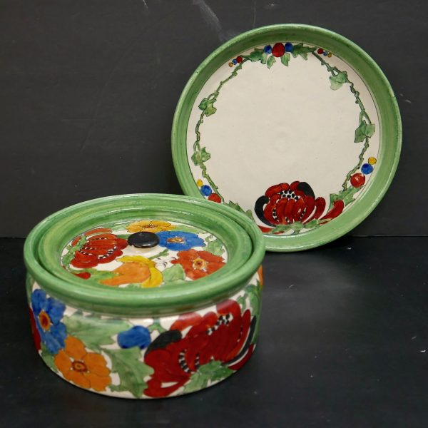 Bauer Painted Pieces