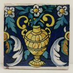 Spanish Tile with Urn