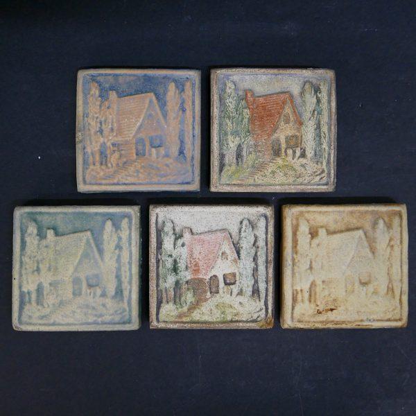 Matte House Tiles