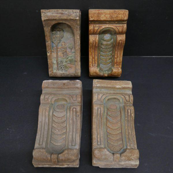 Claycraft Vintage Corbels