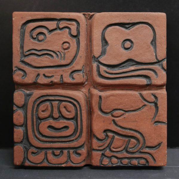 Thick Mayan Tile