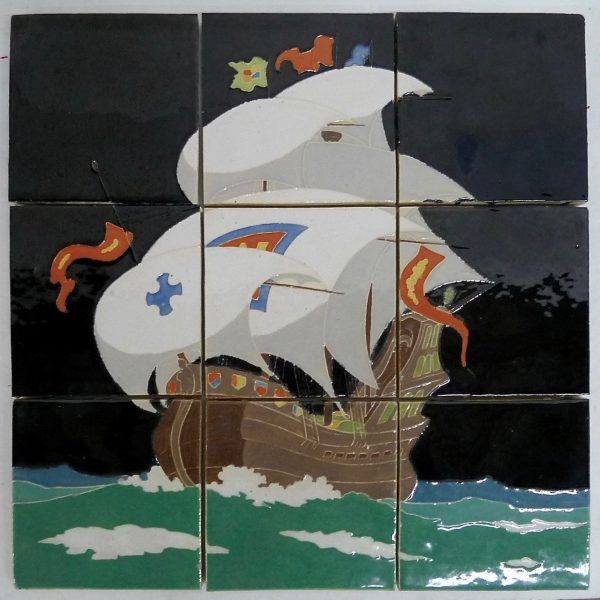 Claycraft Spanish Galleon Panel