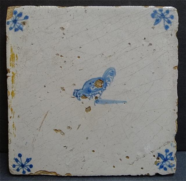 Delft Chicken Tile
