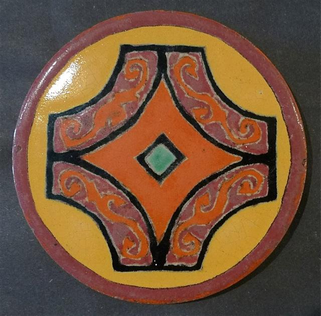 D & M Round Tea Tile