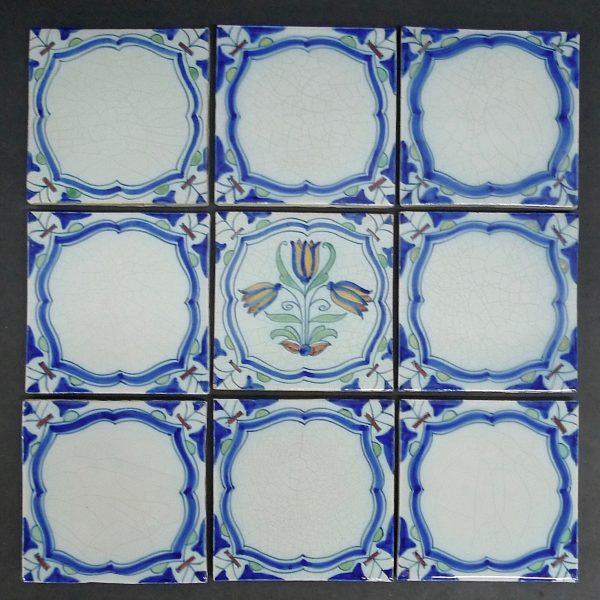 Dutch Tile Back Splash