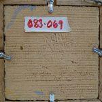 Flint Framed Medallion Tile signature