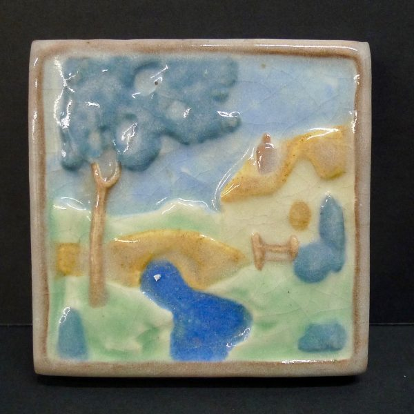 Country Scene Cal Art Tile Co