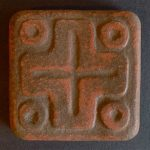 Handcraft Mayan Cross Tile