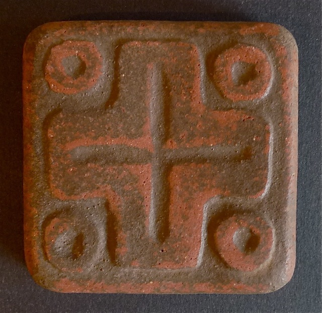 Handcraft Mayan Cross Tile