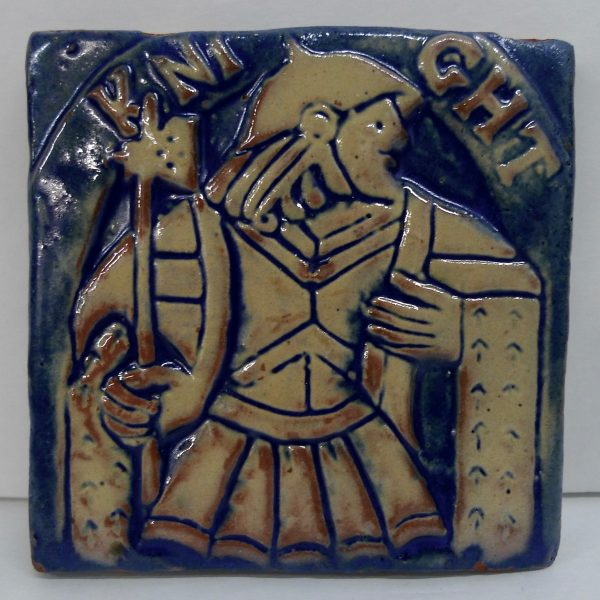 Moravian Knight Tile
