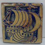 Moravian Mayflower Tile