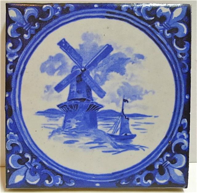 Mosaic Windmill Tile