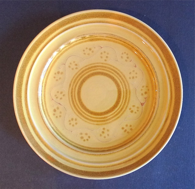 Pacific Decorated Salad Plate