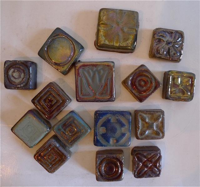 Pewabic Tile Assortment