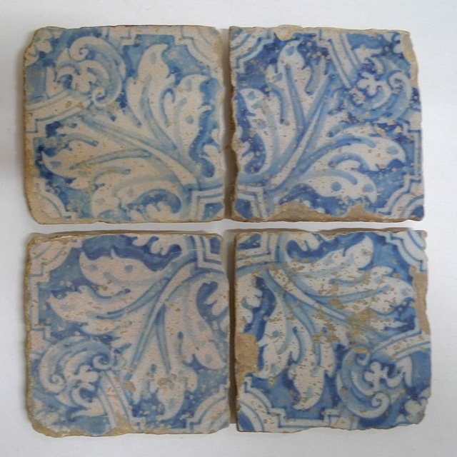 Very old Portuguese Tile
