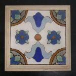 Framed Malibu Tile