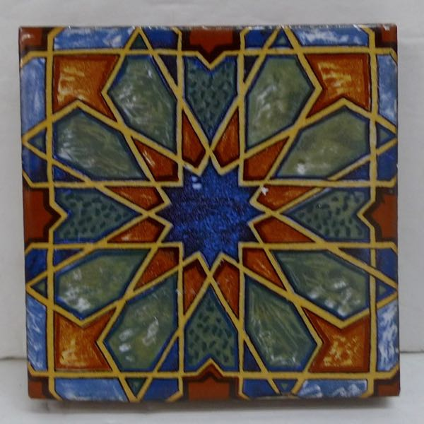 Mosaic Moorish Star