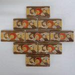 Claycraft Floral Border Tiles