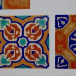 Large Vintage D&M Tile