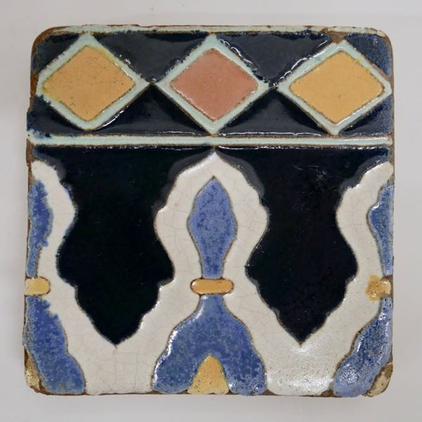 Vintage Decorated Tile GMB