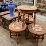Vintage Tile Tables