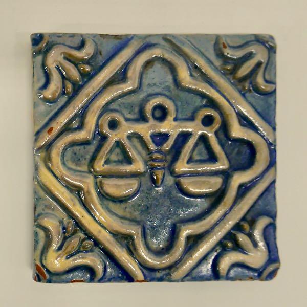 Libra Tile by Moravian