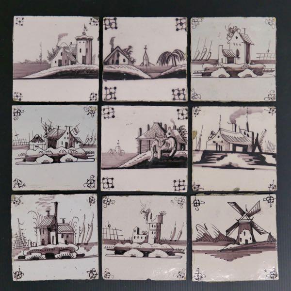 Dutch Scenic Tiles