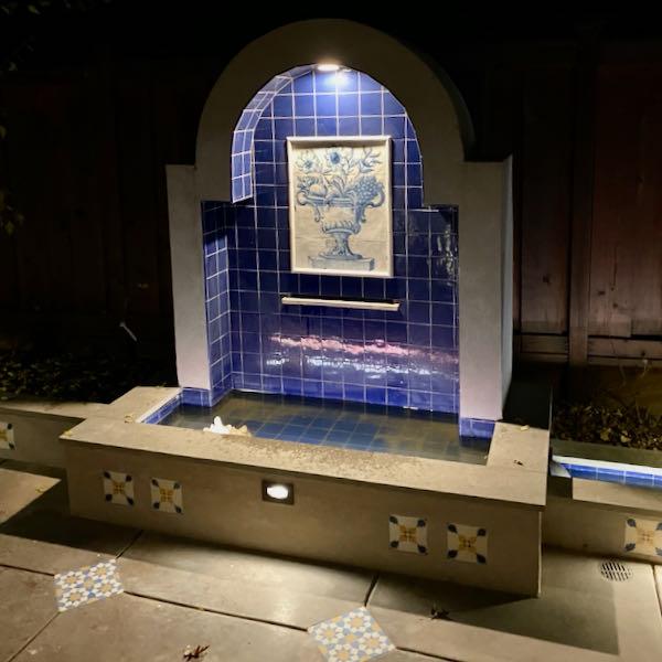 Portuguese Panel in Fountain