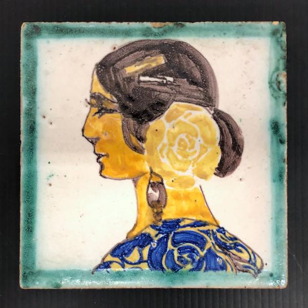 Spanish Figural Tile